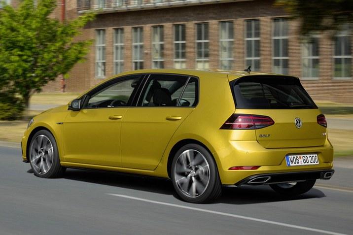 Volkswagen Golf 7 facelift 1